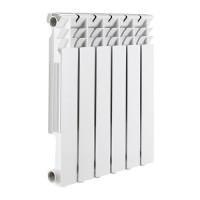 Радиатор алюминиевый секционный ROMMER Optima 500 - 12 секций
