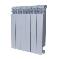 Радиатор алюминиевый секционный GLOBAL VOX R 500 - 6 секций (цвет серебристый)