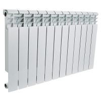 Радиатор алюминиевый секционный ROMMER Profi 350 - 12 секций