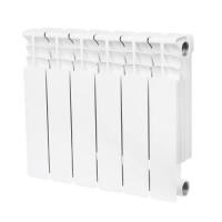 Радиатор биметаллический секционный STOUT Space 350 - 8 секций (подключение боковое)