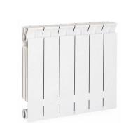 Радиатор биметаллический секционный STOUT Style 350 - 8 секций (подключение боковое)