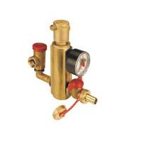 """Группа безопасности системы отопления Giacomini R554P - 1"""" (с отводом)"""