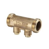 """Клапан обратный Oventrop Aquastrom R - 3/4"""" (НР/НР, PN16, Tmax 95°C, с дренажными отводами)"""