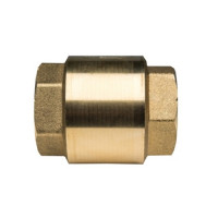 """Клапан обратный STOUT - 1""""1/4 (ВР/ВР, PN10, Tmax 100°C, затвор пластиковый)"""