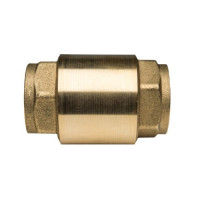 """Клапан обратный STOUT - 3/4"""" (ВР/ВР, PN25, Tmax 100°C, затвор металлический)"""