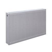 Радиатор панельный профильный ROMMER Compact тип 11 - 300x1400 мм (подкл.боковое, белый)