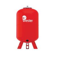 Бак расширительный мембранный Wester WRV - 300 л. (PN10, Tmax100°С, вертикальный, на ножках)