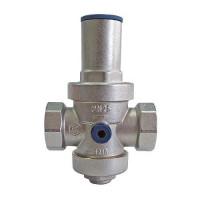 """Регулятор давления поршневой STOUT - 1"""" (ВР/ВР, PN25, Tmax 130°С, EPDM, с выходом для манометра)"""