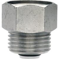 """Клапан обратный для воздухоотводчиков ITAP 365 - 3/8"""" (НР/ВР, цвет хромированный)"""