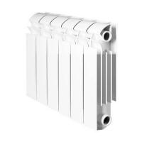 Радиатор алюминиевый секционный GLOBAL VOX R 350 - 8 секций (цвет белый)