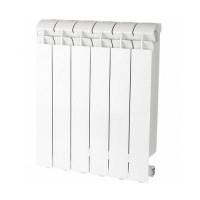 Радиатор алюминиевый секционный GLOBAL VOX R 500 - 6 секций (цвет белый)
